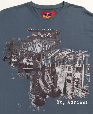 METAPHOR AIDRIAN TEE DENIM