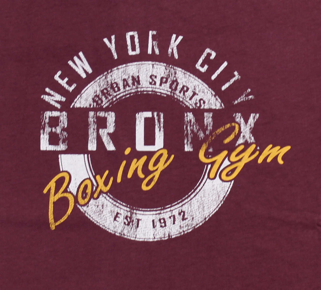 METAPHOR BRONX BOXING TEE WINE