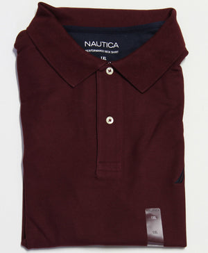 NAUTICA NAZ730006GB POLO TOP BURGUNDY