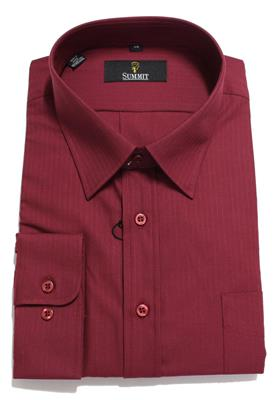 SUMMIT BUSINESS SHIRT 20263 PORT WINE