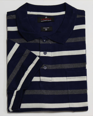 TRENDZ TPS1749 POLO TOP CHARCOAL