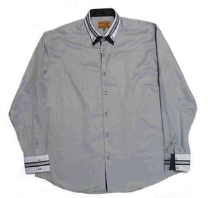 36 DEGREES 46240 FASHION SHIRT SLATE