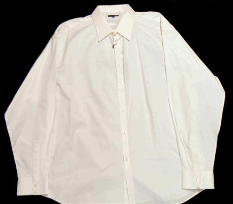 36 DEGREES TSD-999 WHITE LONG SLEEVE SHIRT