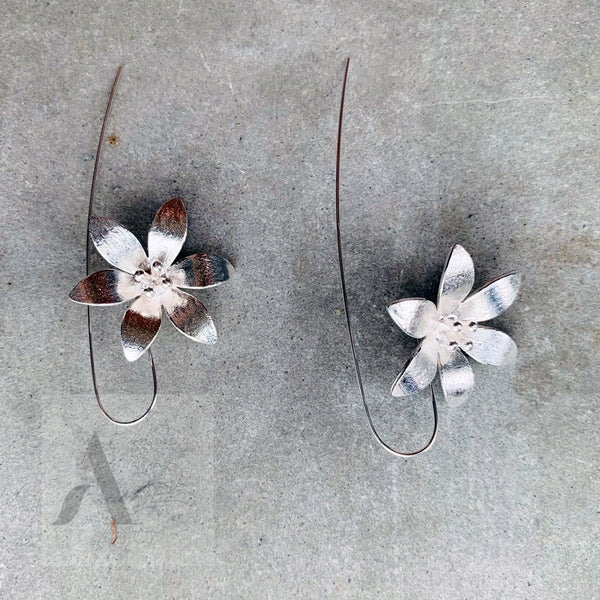 Floral Drop earrings for Birthday Gift