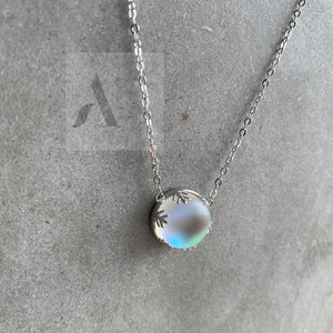 925 Sterling Silver Aurora Necklace