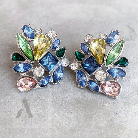 Jewellery AE Colourful Swarovski Crystal Earrings