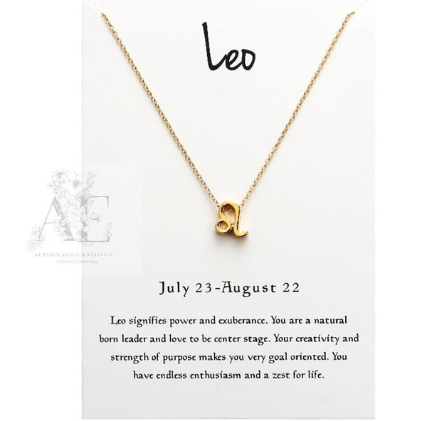 Constellation Gift Fashion Necklace