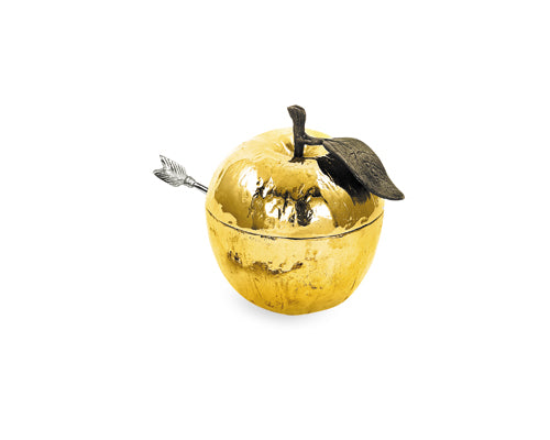 Michael Aram Goldplate Honey Pot With Spoon