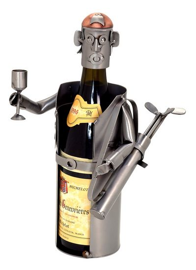 Male Golfer Wine Caddy