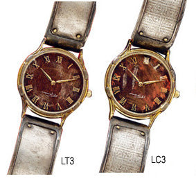 Minstrel Line Silver Band Watches