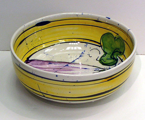 Handpainted Ceramic Bowl