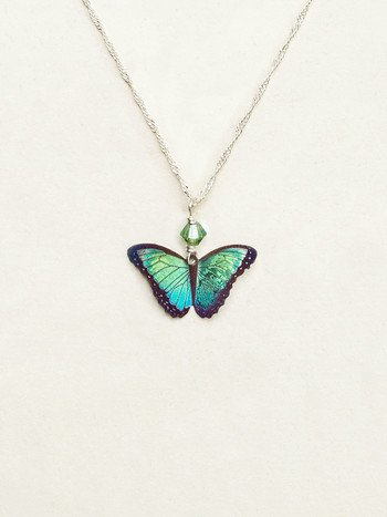 Holly Yashi Bella Butterfly Pendant Necklace