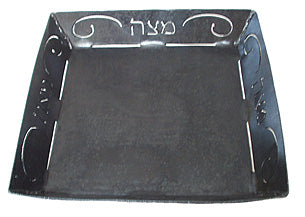 Blackthorne Forge Iron Matzah Plate