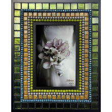 Load image into Gallery viewer, Mosaic Glass and Tile Frame - 4x6