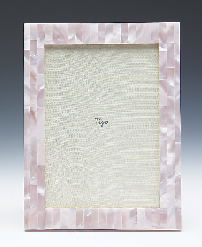 Pink Mother-of-Pearl Frame -4x6
