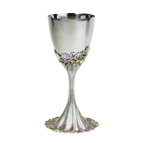 Freesia Kiddush Cup Set