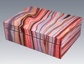 Marbled Red Box