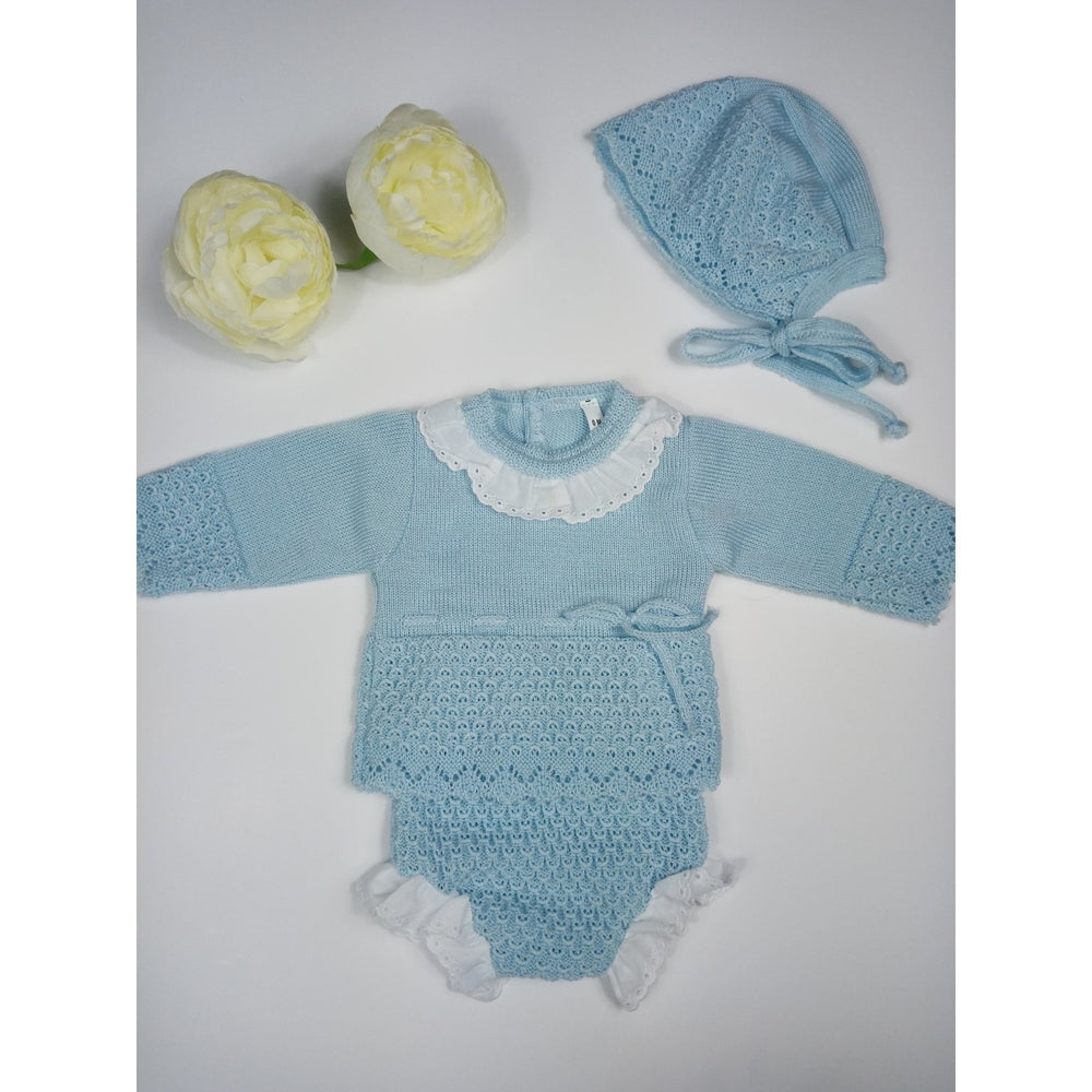 Baby Knitted Set Blue