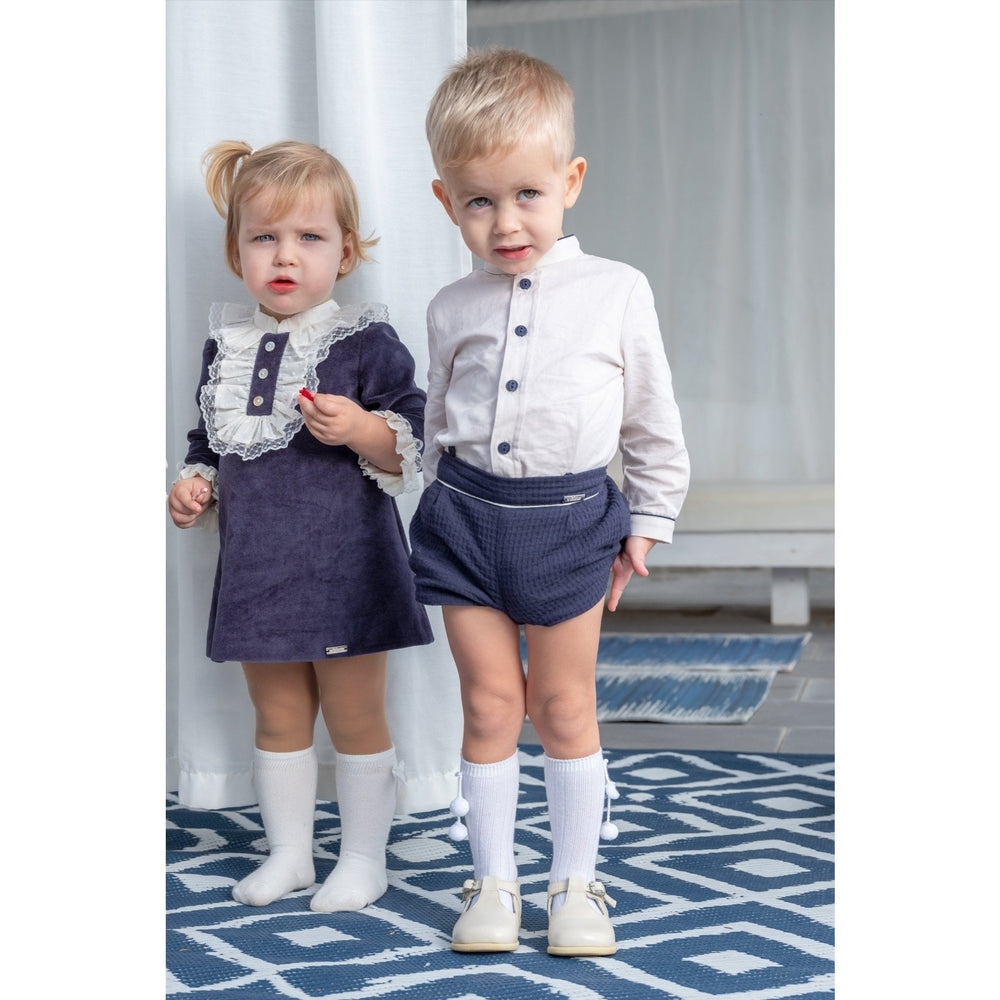 Nekenia Navy Baby Dress
