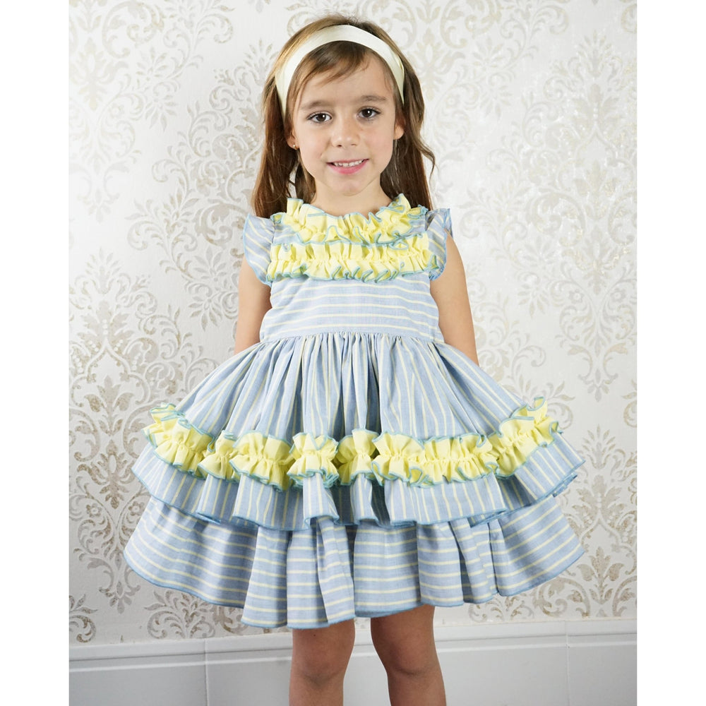 PRE ORDER Clemencita Pandora Dress - Lala Kids