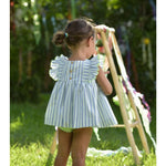 PRE ORDER La Peppa Smocked Dress - Lala Kids