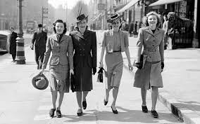 A Closer Look at 1940's Fashion