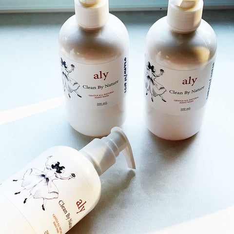 LOVE Aly's Clean by Nature Natural Moisturising Hand Wash