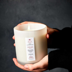 desire candle with essential oils