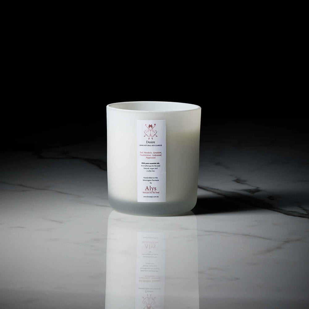 Load image into Gallery viewer, DESIRE-LUX-BY-NATURE-CANDLE-WITH-ESSENTIAL-OILS