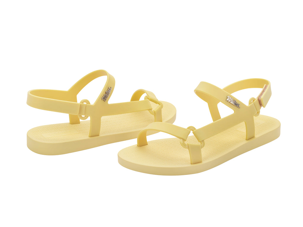 Melissa Downtown Sandals Yellow