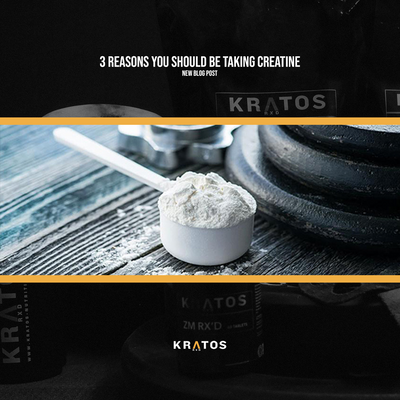 3 Reasons You Should Be Taking Creatine