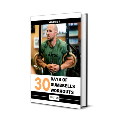 """30 Days of Dumbbells Workouts"" eBook"