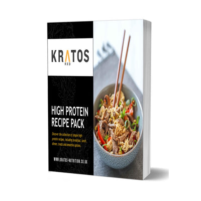 Kratos High Protein Recipe eBook : Volume 1