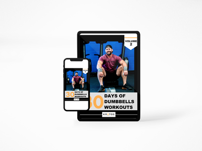"Vol 2 - ""30 Days of Dumbbells Workouts"" eBook"