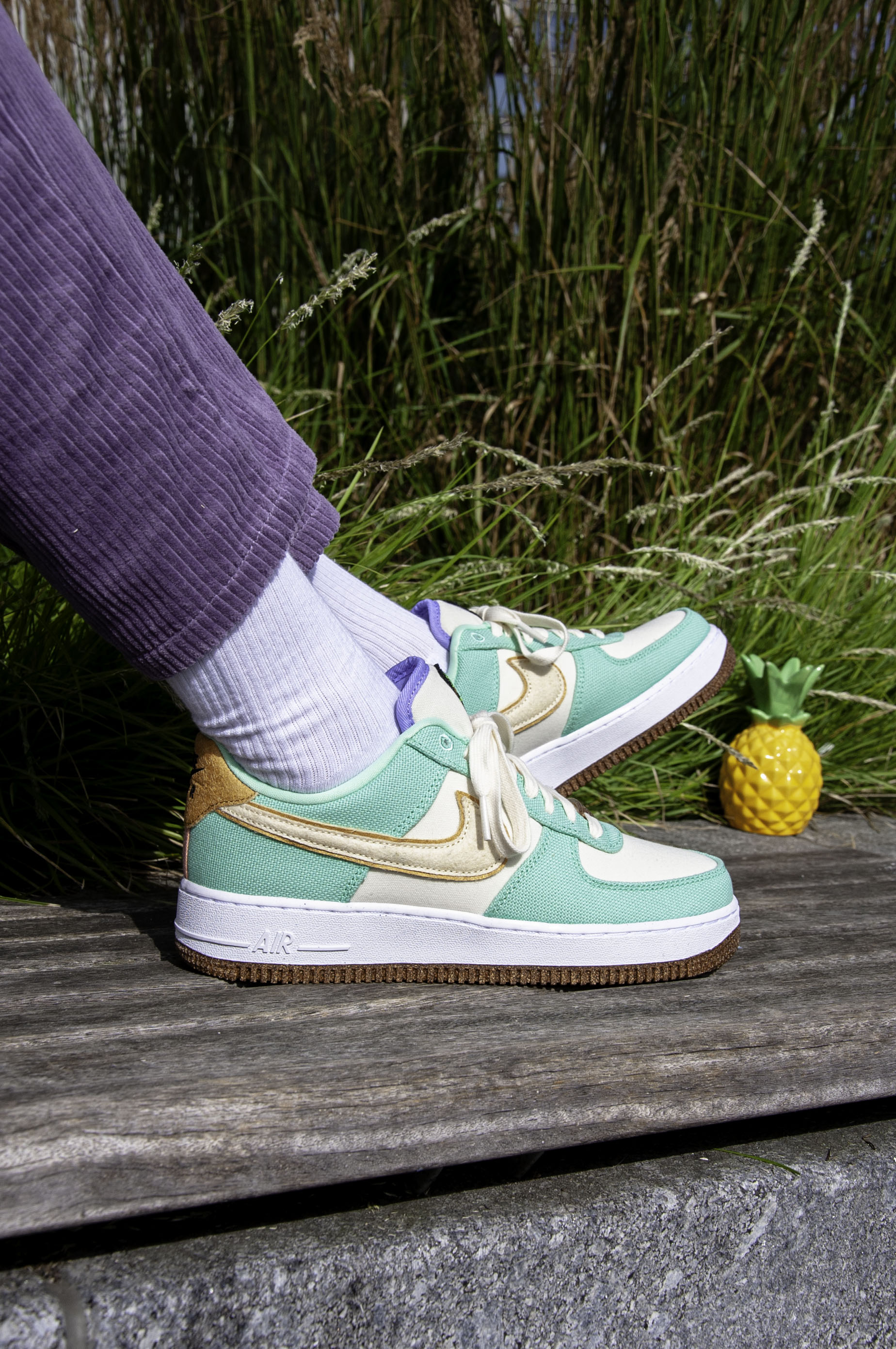 """Nike Air Force 1 Low """"Happy Pineapple"""" CZ0268-300"""