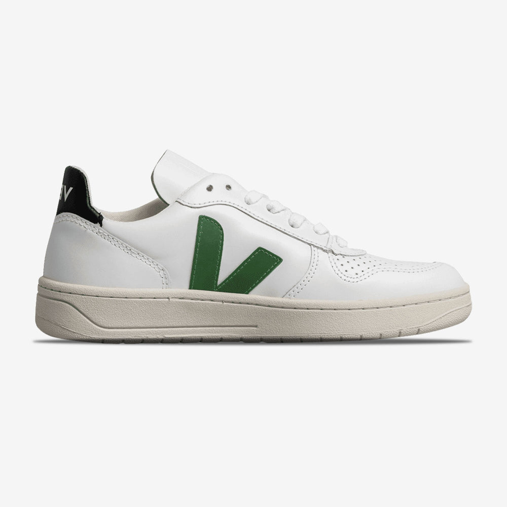 V10 Leather ''White Green''