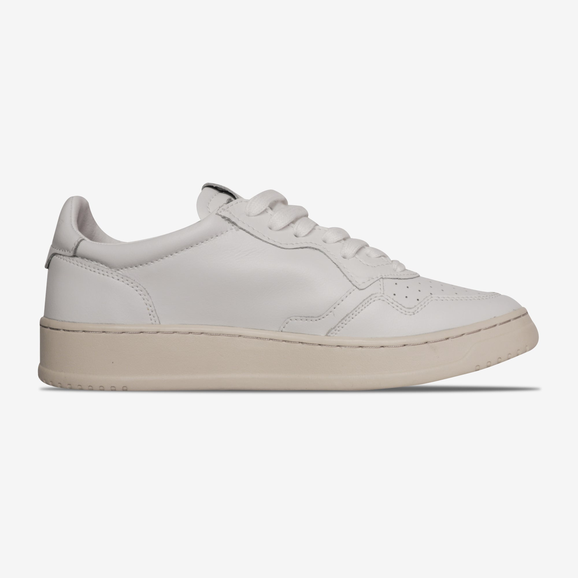 """Autry Low Leather """"White"""" online kopen"""
