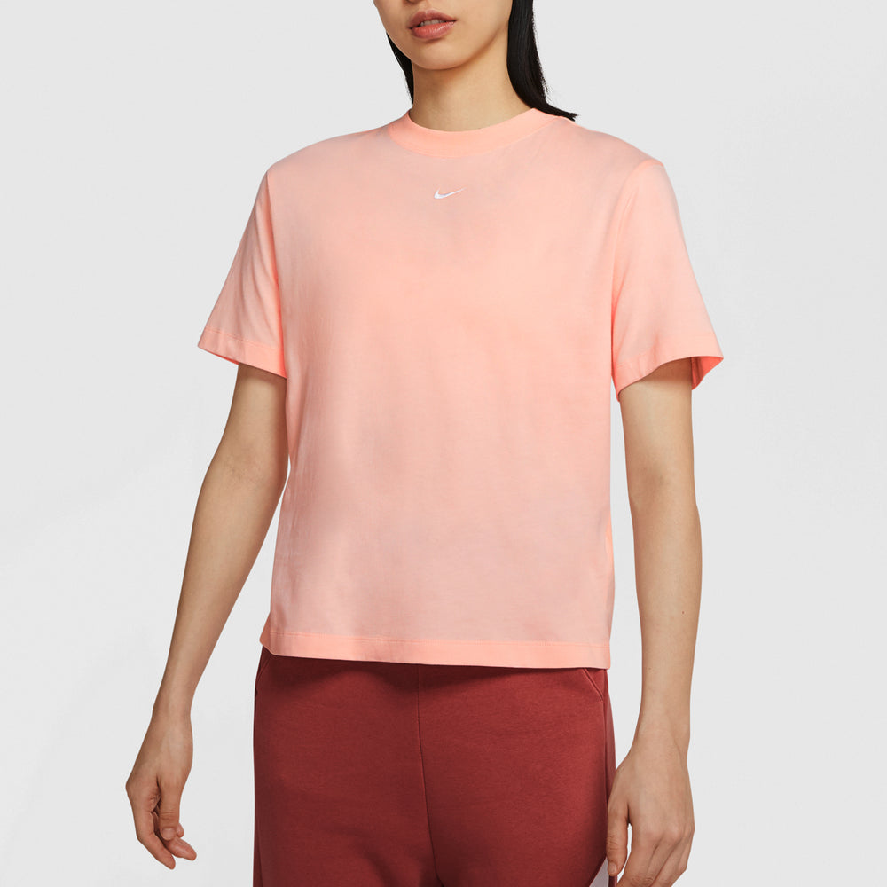 Nike-Essentials Short Sleeve-Pink-CT2587-664