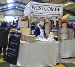 Christine busy on the Westcombe stand