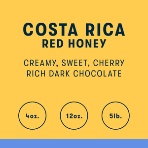 Costa Rica Red Honey Single Origin Coffee - RIVET Coffee