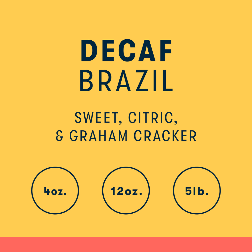 Decaf, Brazil - Natural Water Process - RIVET Coffee