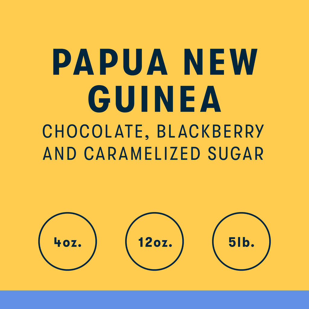 Kabiufa Microlot, Papua New Guinea Single Origin Coffee - RIVET Coffee
