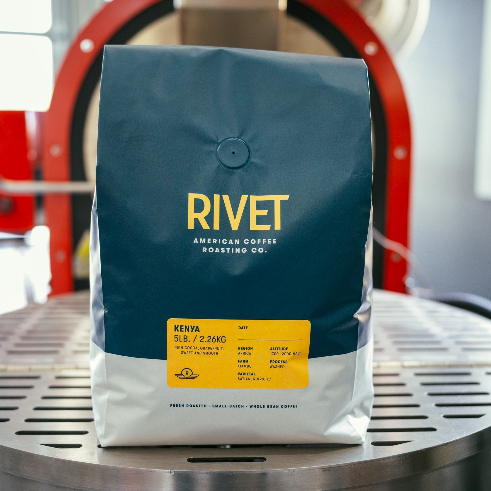 Kiambu Microlot, Kenya AA Single Origin Coffee - RIVET Coffee