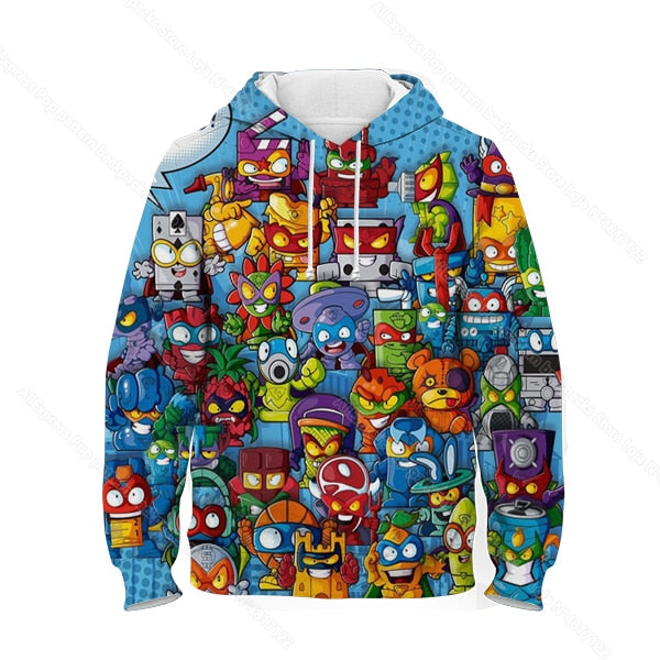 Children Super Zings Hoodie