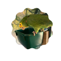 GIANT Dark Green Toy Bucket