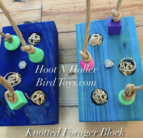 Knotted Forage Block