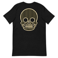 """Skulliosis 'Stripes'""Graphic Tee"