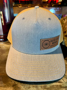 Rusted Spoke Mesh Hat~ Yellow & Gray Mesh Hat