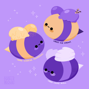 Ubee Cake Roll Sticker