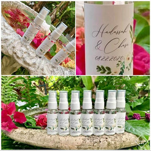 BULK ORDER Hand Sanitizer 50+ Units Custom Label Available, Wedding Favors Hand Sanitizers